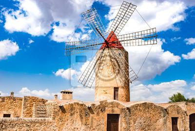 molino de viento de Mallorca