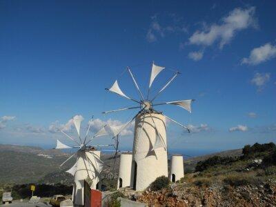 Cuadro Molino de viento en la meseta de Lasithi