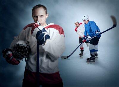 Cuadro Momento en partido de hockey sobre hielo