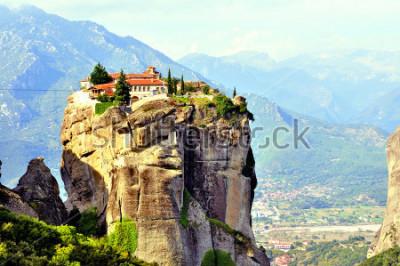 Cuadro Monasterios de Meteora en el norte de Grecia en la región de Tesalia