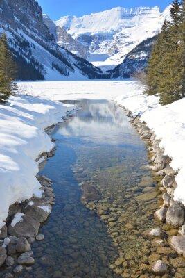 Cuadro Montañas y río