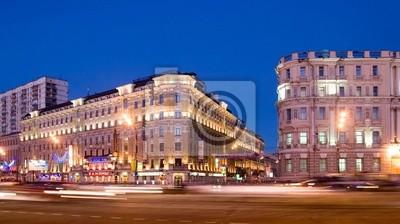 Moscow.Smolenskiy boulevard