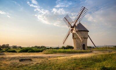 moulin à vent ancien, Batz-sur-Mer