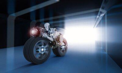 Cuadro movimiento de velocidad del robot
