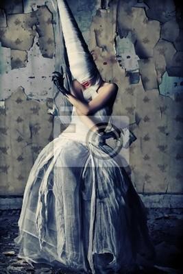 muchacha melancólica