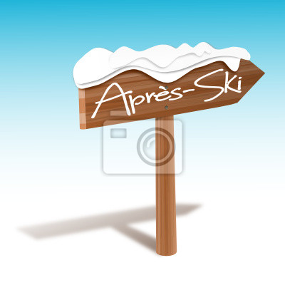 Muestra de madera Apres Ski