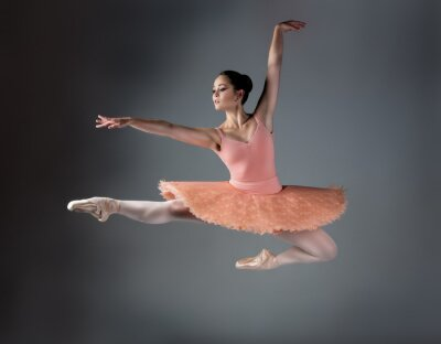 Cuadro Mujer bailarina de ballet