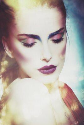 Cuadro Mujer de la belleza de la fantasía