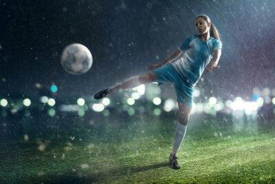 Cuadro Mujer del fútbol