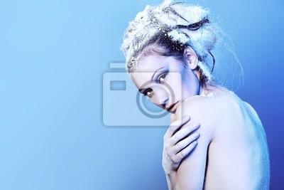 mujer desnuda