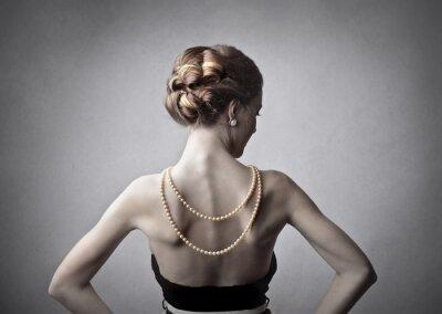 Cuadro Mujer Elegante