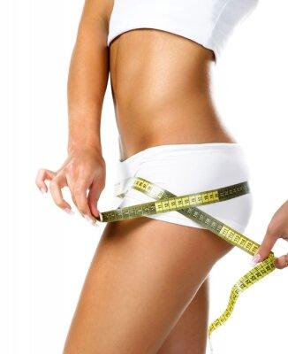 Cuadro Mujer medir de forma perfecta de caderas hermosas