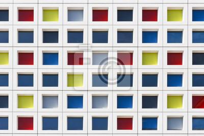 Multicolor de Windows Building