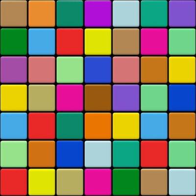 Cuadro Multicolore Carrelage 01:03