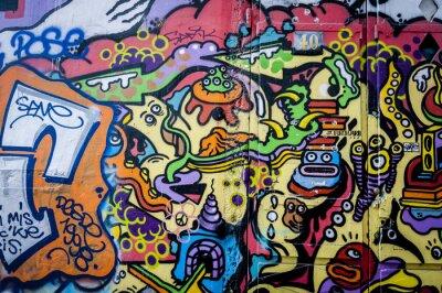 Cuadro Mur diversión de la pintada