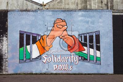 Cuadro Murales de Belfast