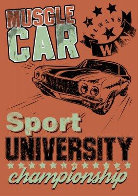 Cuadro Muscle car