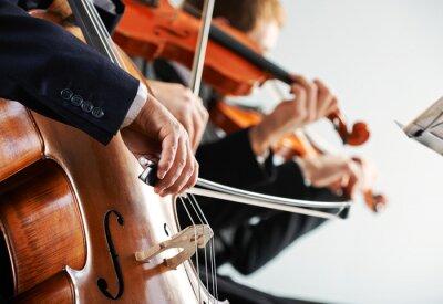 Cuadro Música clásica: concierto