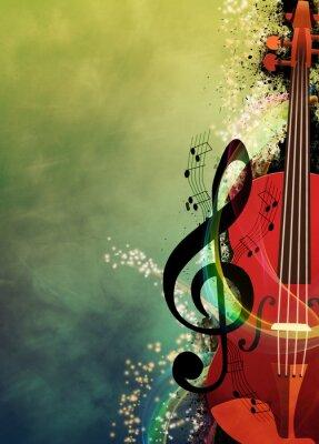 Cuadro Música de fondo