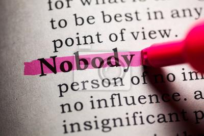 Cuadro nadie