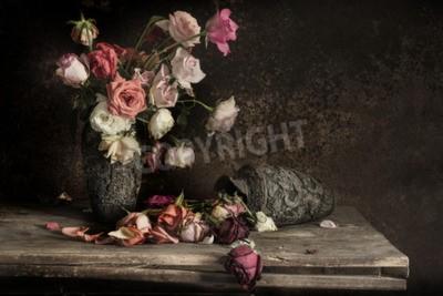 Cuadro Naturaleza muerta Fotografía con flor