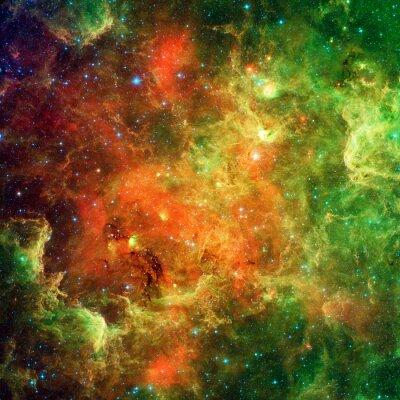 Cuadro Nebulosa de América del Norte y la nebulosa del pelícano