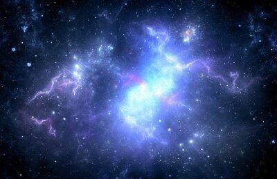 Cuadro Nebulosa del espacio profundo