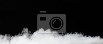 niebla aislados en negro