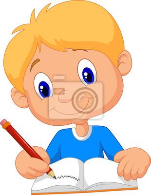 Resultado de imagen para niño escribiendo
