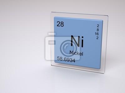Nquel smbolo de ni elemento qumico de la tabla peridica cuadro nquel smbolo de ni elemento qumico de la tabla peridica urtaz Choice Image