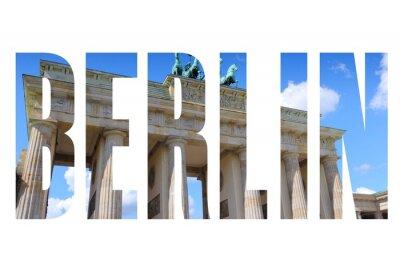 Cuadro Nombre de la ciudad de Berlín