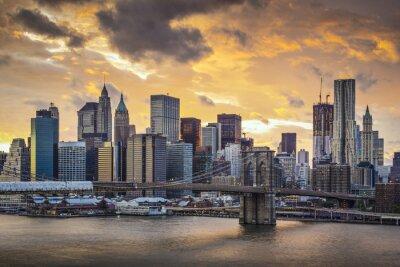 Cuadro Nueva York Horizonte de la ciudad
