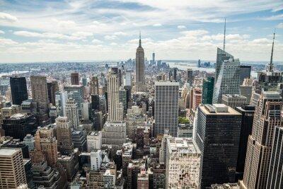 Cuadro Nueva York Manhattan Midtown vista horizonte de edificios