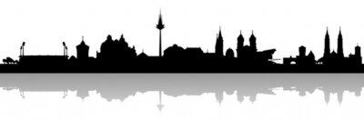 Nürnberg Altstadt Skyline