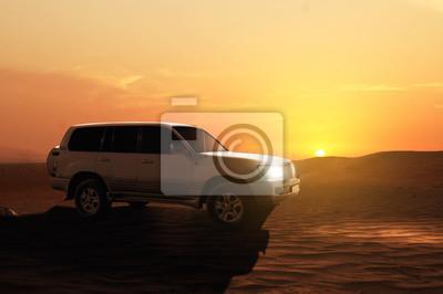 Offroadcar en el Desierto