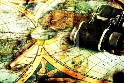 Old Fashioned objetos en el mapa de cosecha