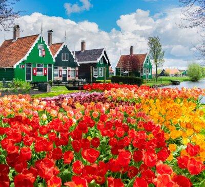 old town of Zaanse Schans, Netherlands