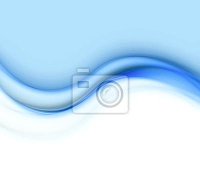 cuadro ondas azules fondo para powerpoint