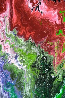 Opinion Del Primer De Una Pintura Al Oleo Abstracta Original
