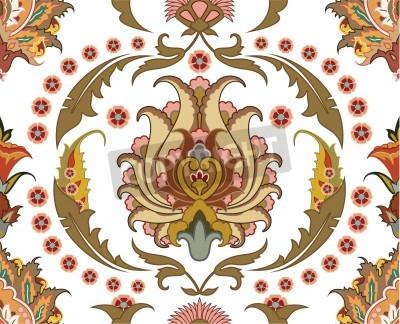 Cuadro Ornamento inconsútil con diseño east