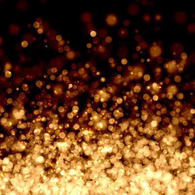 Oro luz de fondo abstracto