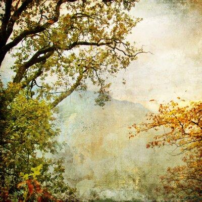 otoño pintado