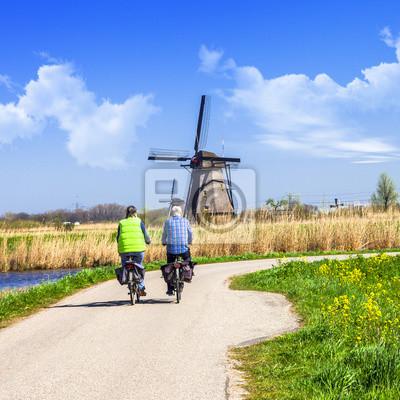 Paisaje tradicional de Holanda