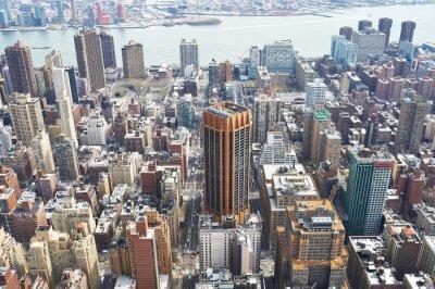 Cuadro Paisaje urbano de Manhattan