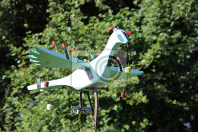 Pájaro de madera