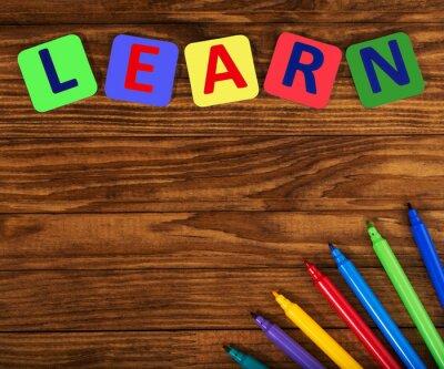 Cuadro palabra aprender