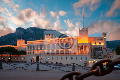 Palacio del Príncipe de Mónaco, la residencia oficial del Rey