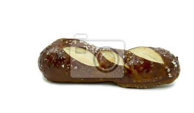 Pan dulce por shabbat aislado en blanco