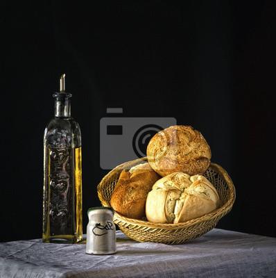 Cuadro Pan whit aceite de oliva