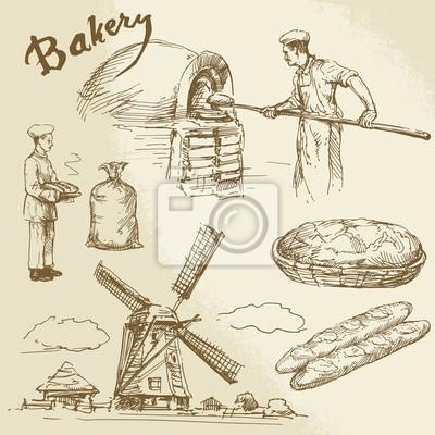 panadero, panadería, el pan